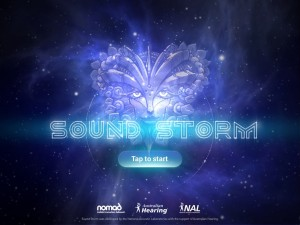 Sound Storm Splash Screen