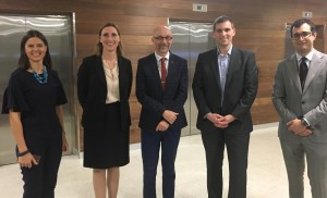 GP event - presenters, Left to Right: Associate Professor Catherine McMahon,Associate Professor Catherine Birman, Professor David McAlpine, Dr Nicholas Jufas & Mr Phillip Nakad