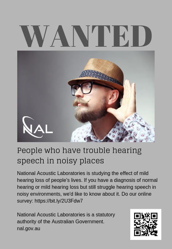 NAL participate in research flyer