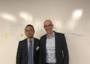Professor Michael Sheng and Professor David McAlpine