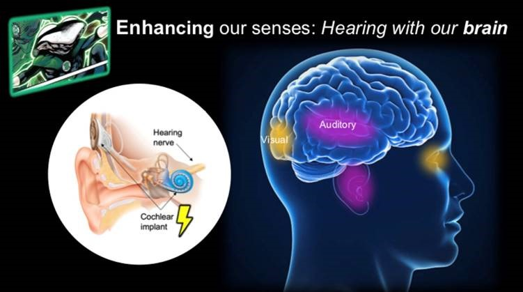 Enhancing our senses